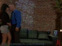 Фетешисты страстно занимаются сексом